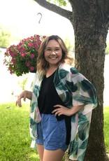 Wink Palm Leaf Kimono