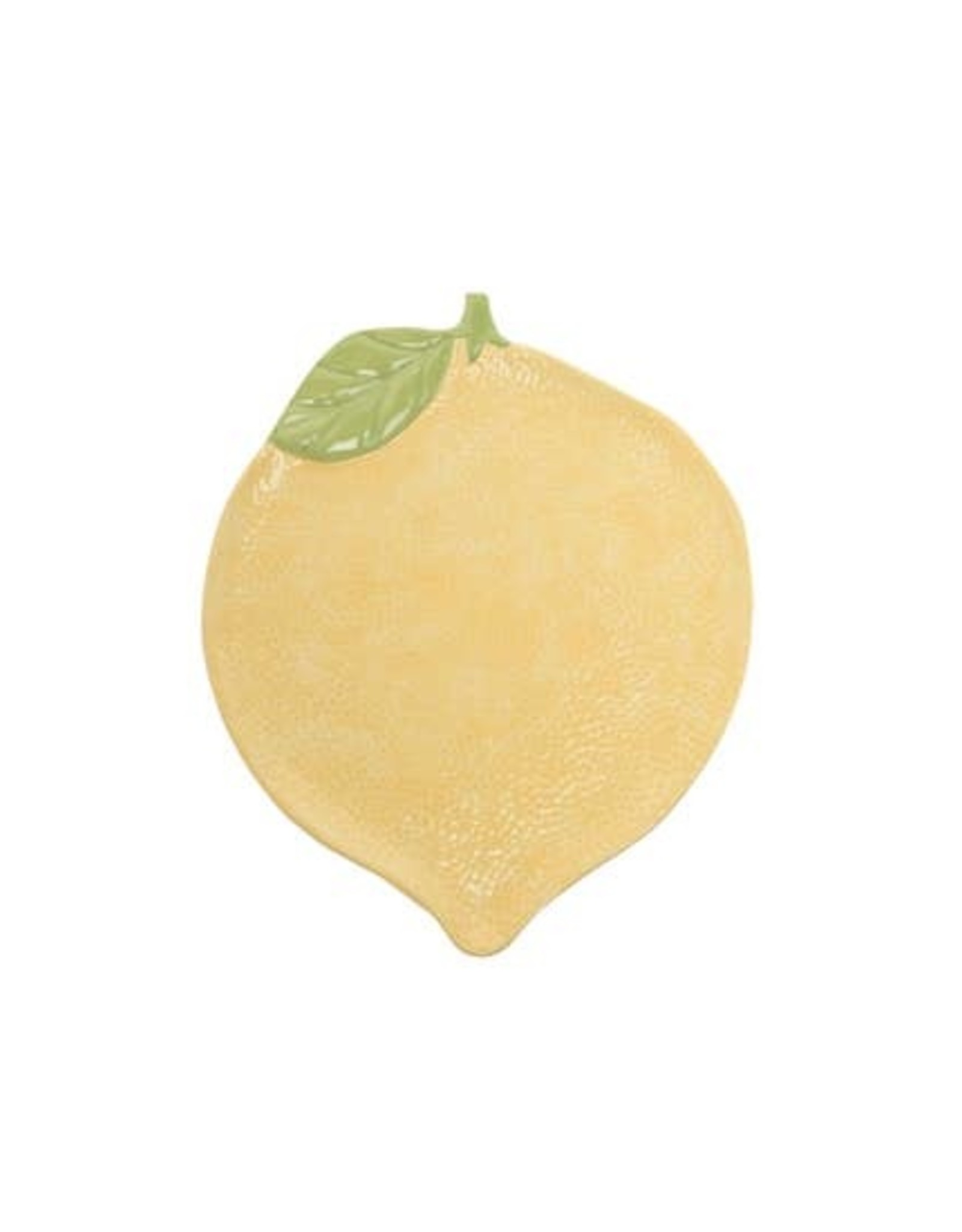 "Wink Yellow Lemon Plate 13"""