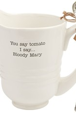 Mud Pie Bloody Mary Pitcher