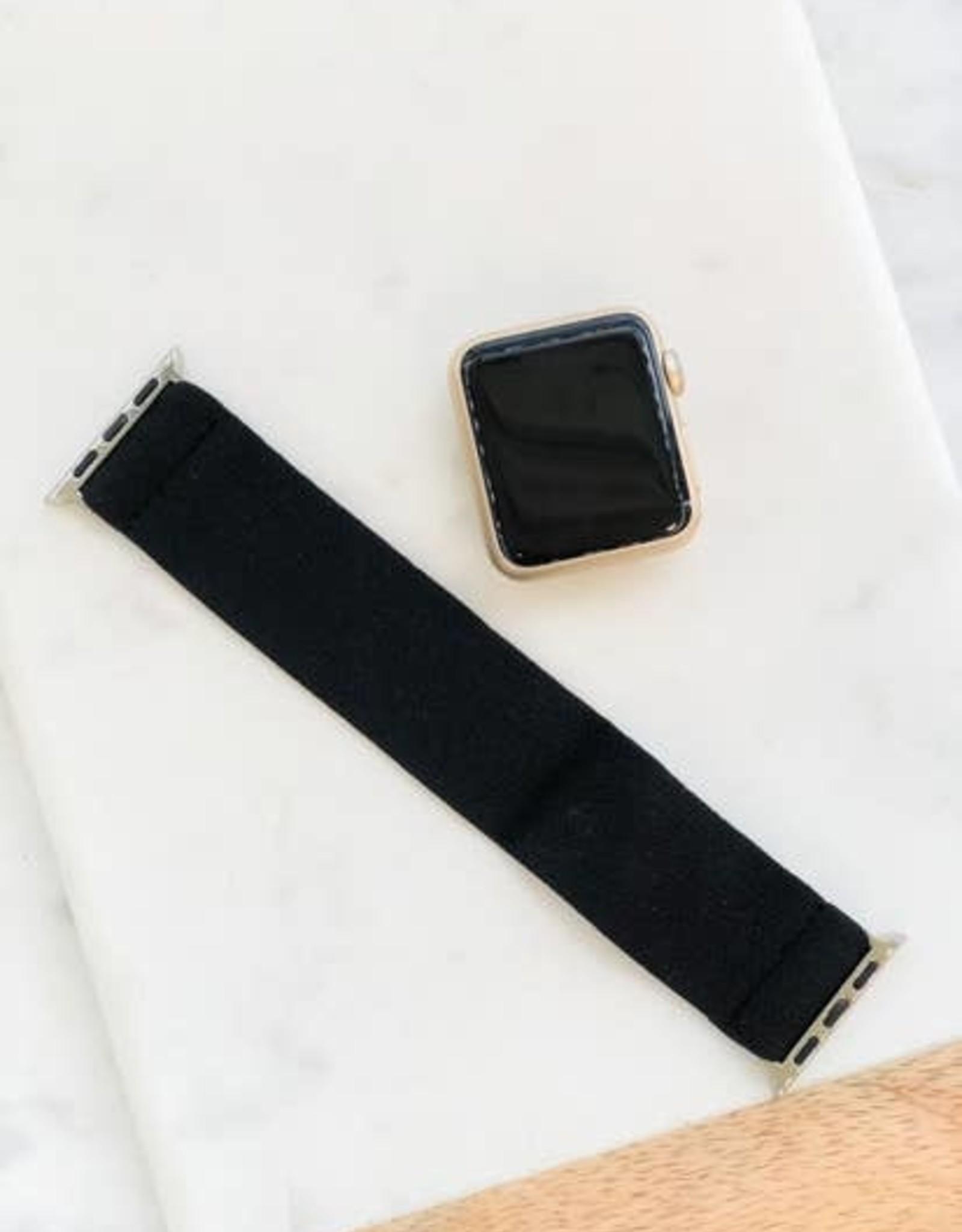 Wink Black Stretch Watch Band