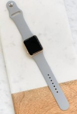 Wink Grey Silicone Watch Band