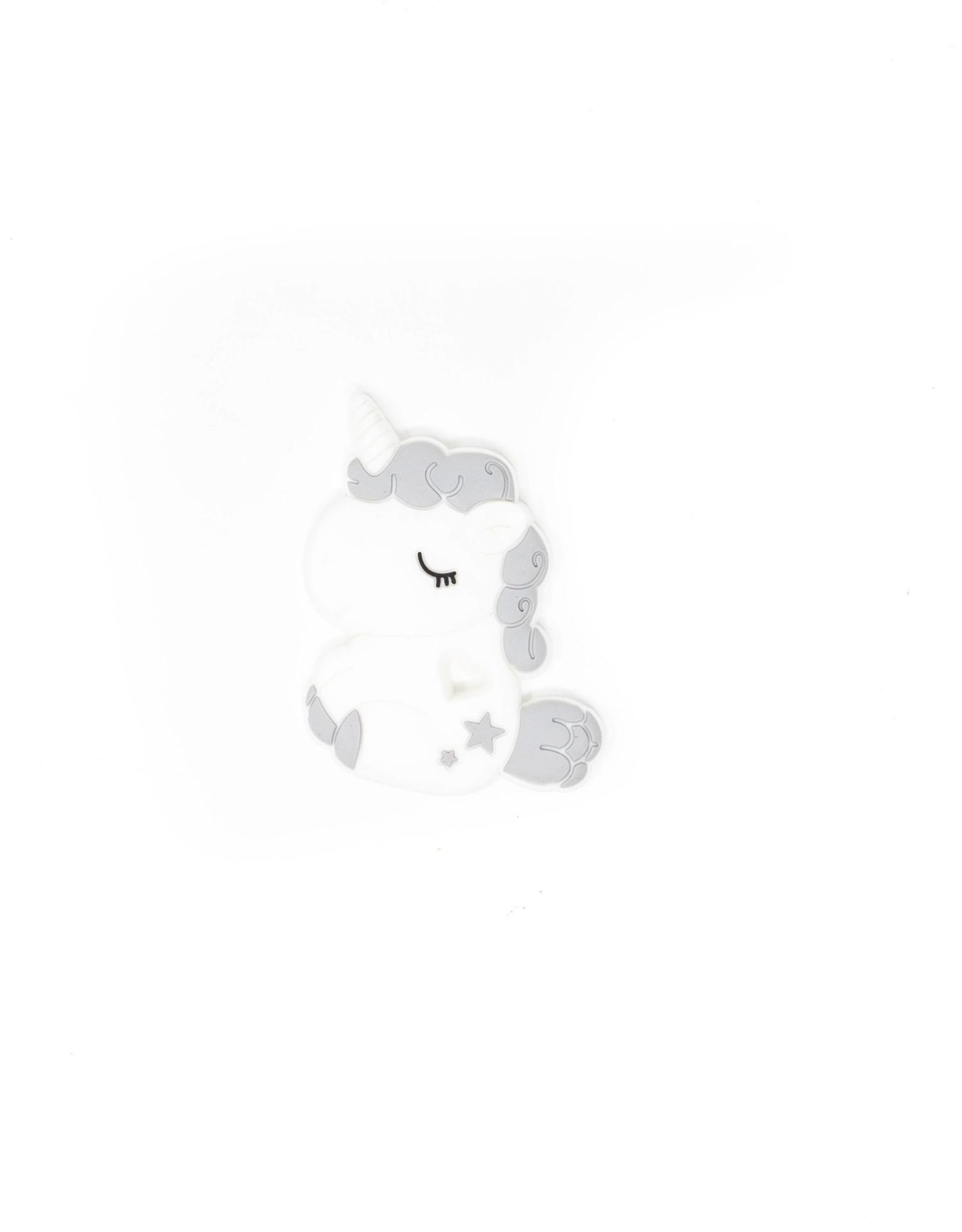 Wink Unicorn Teether- Platinum