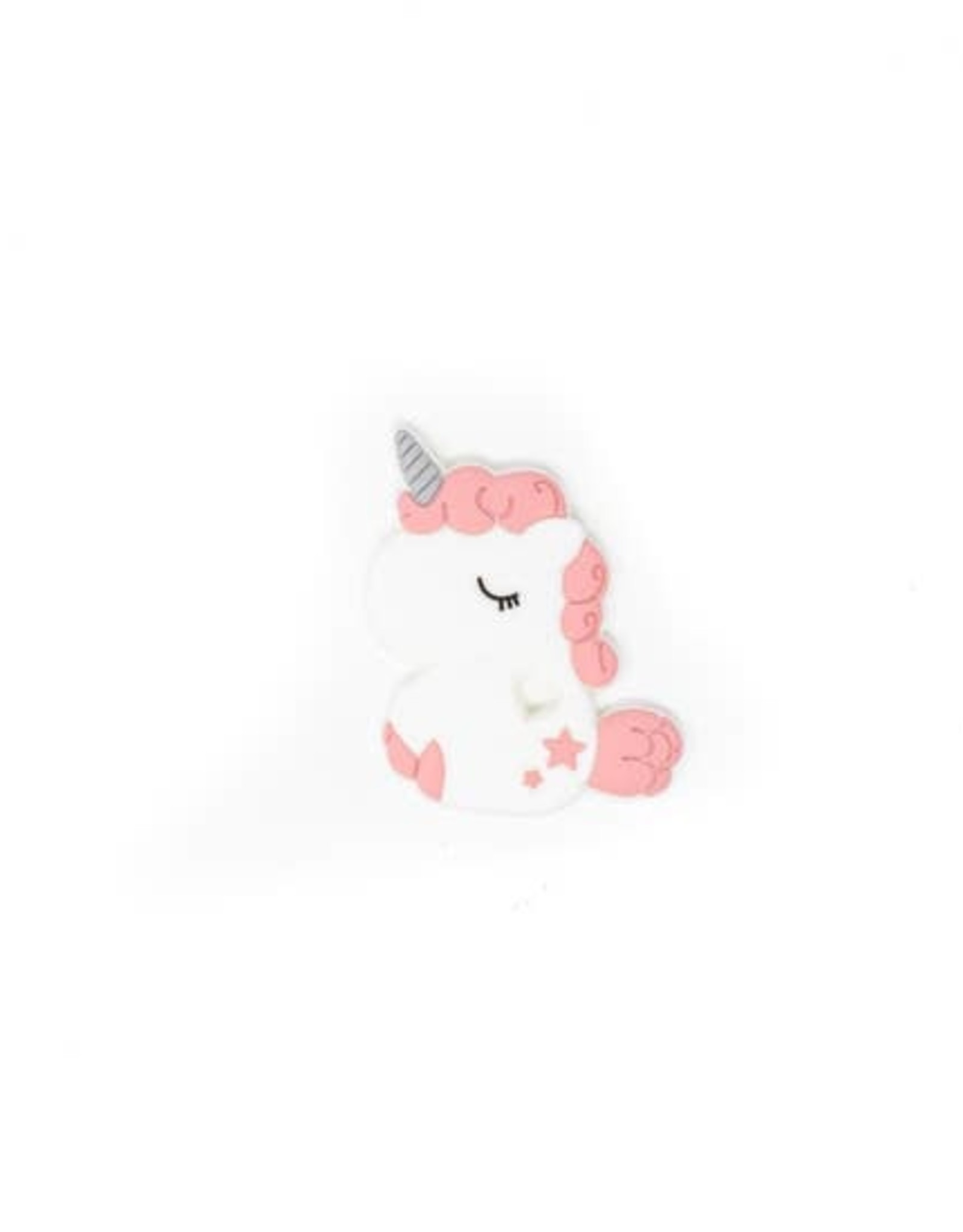 Wink Unicorn Teether- Dusty Rose