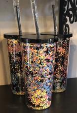 Wink Confetti Travel Cup