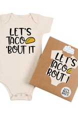 Wink Let's Taco 'Bout It Onesie