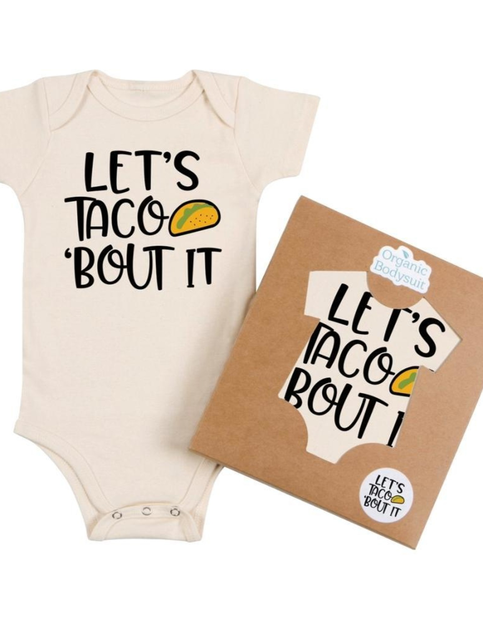 Wink Let's Taco 'Bout It Onesie