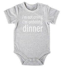 Wink Ordering Dinner Onesie (0-3 mo.)