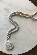 Wink Stone Drop Necklace