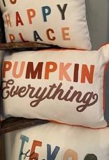 Wink Pumpkin Everything Pillow