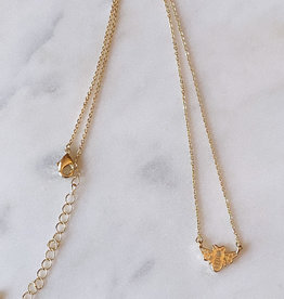 Wink Bumble Bee Chain Necklace