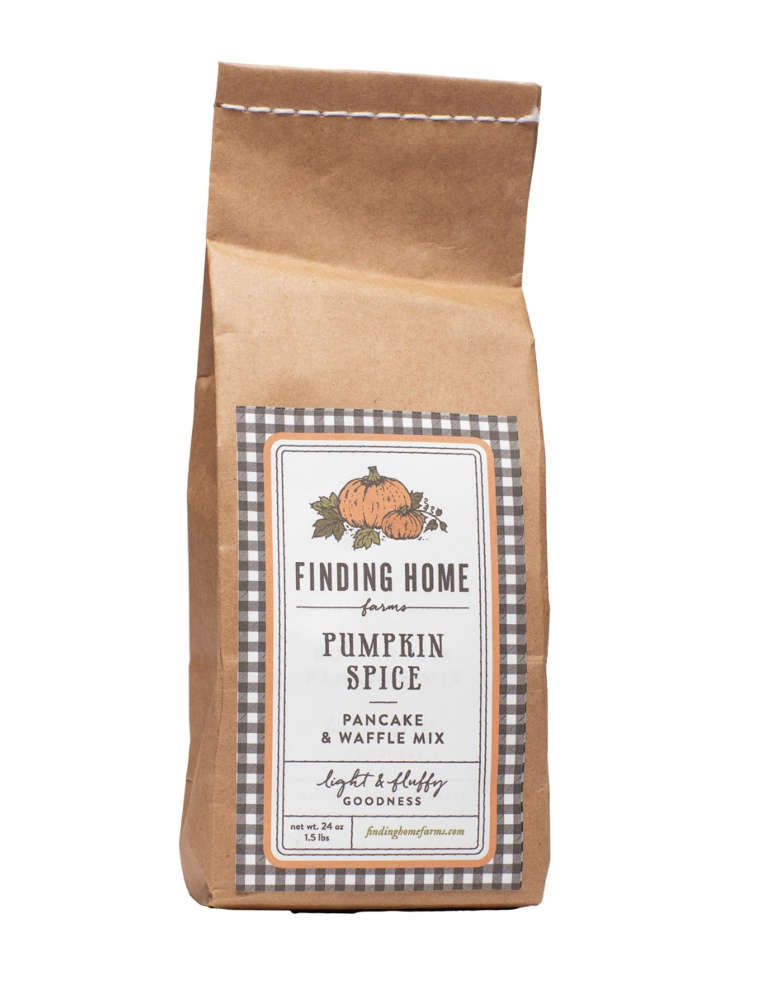 Finding Home Farms Pumpkin Spice Pancake & Waffle Mix