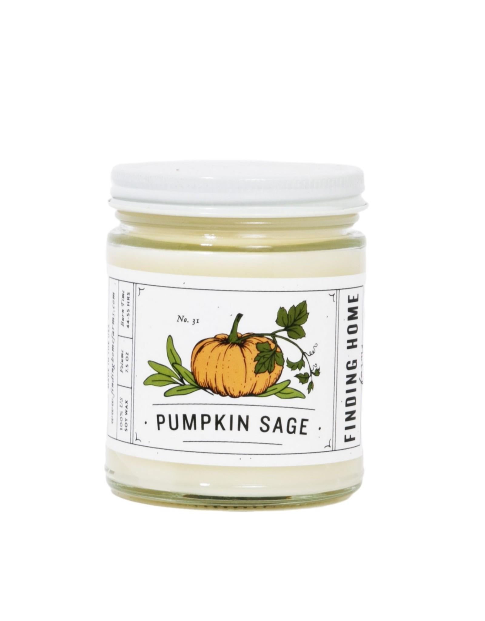 Finding Home Farms Pumpkin Sage Candle - 7.5oz