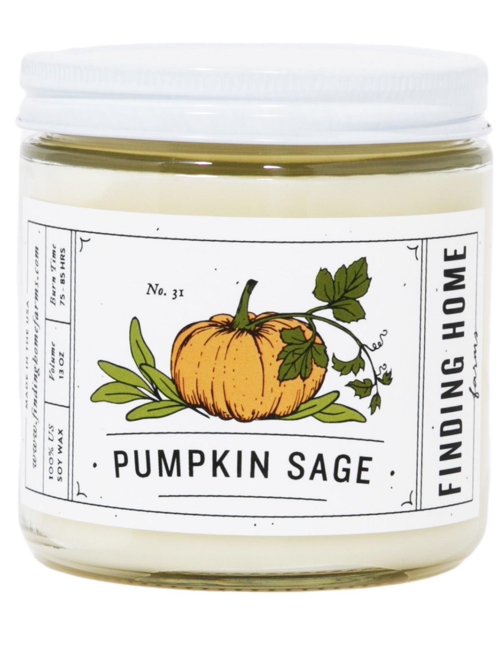 Finding Home Farms Pumpkin Sage Candle - 13oz