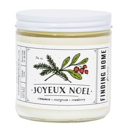 Finding Home Farms Joyeux Noel Candle - 13oz