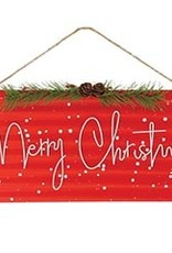Wink Wall Hanging Tin - Merry Christmas