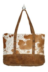 Wink Vintage Hairon Tote Bag