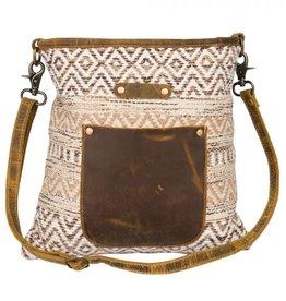 Wink Beige World Shoulder Bag