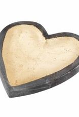 Mud Pie Marble Heart Tray