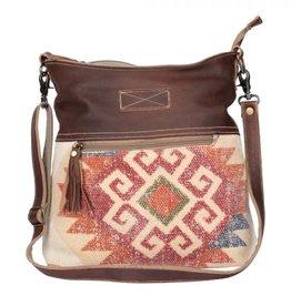 Wink Red Aztec  Shoulder Bag