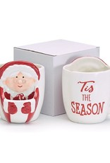 Wink Mrs. Claus Mug with Pouch