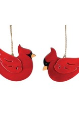 Wink Glossed Cardinal Ornament