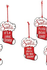 Wink Dear Santa Ornament