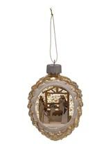Wink Light Up Mercury Glass Nativity