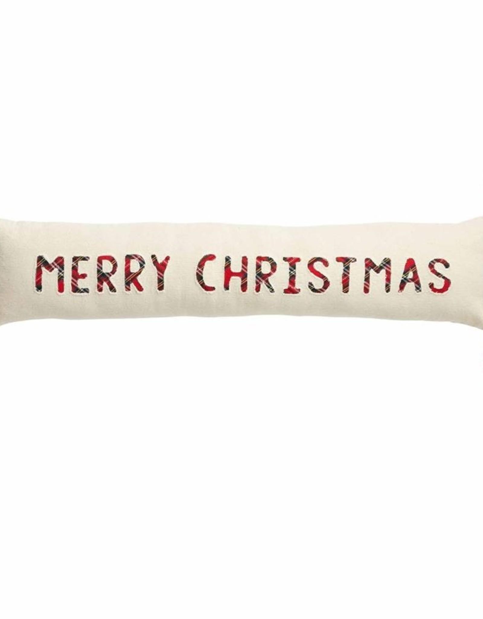 Wink Merry Tartan Skinny Pillow