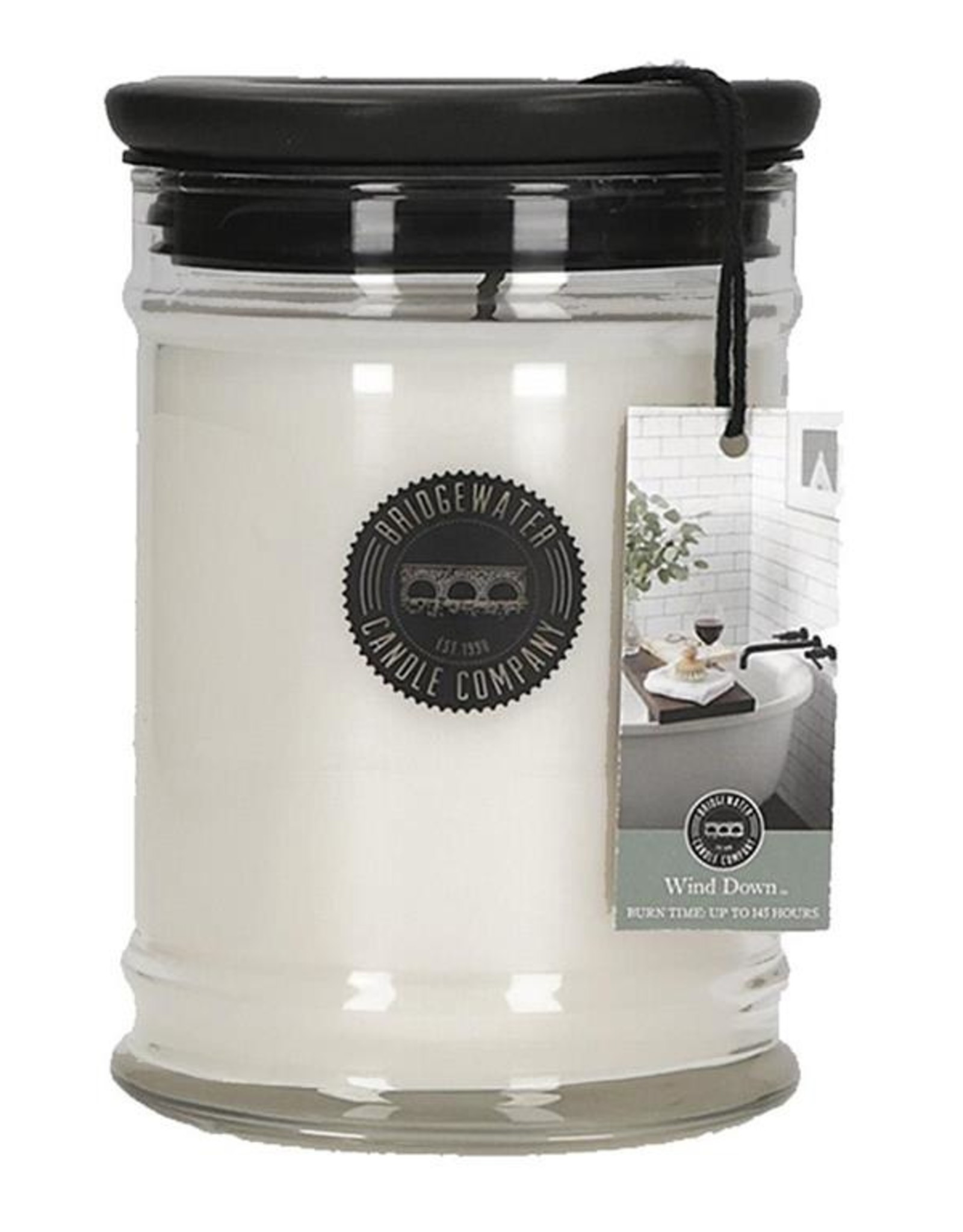 Bridgewater 8 oz. Wind Down Jar Candle