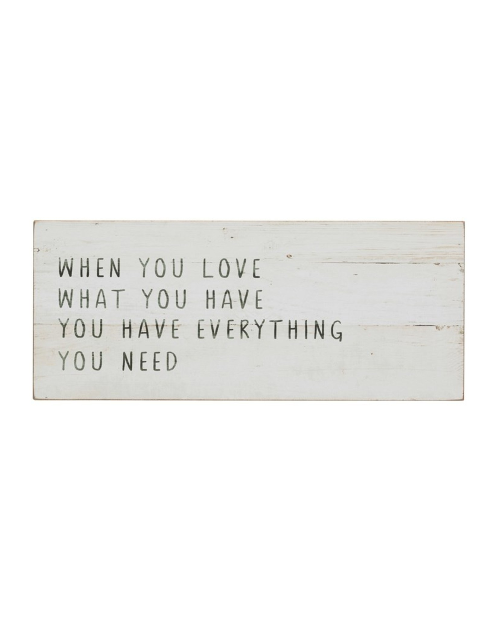 Wink Love What You Have Wall Decor