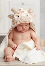 Mud Pie Giraffe Hooded Baby Towel