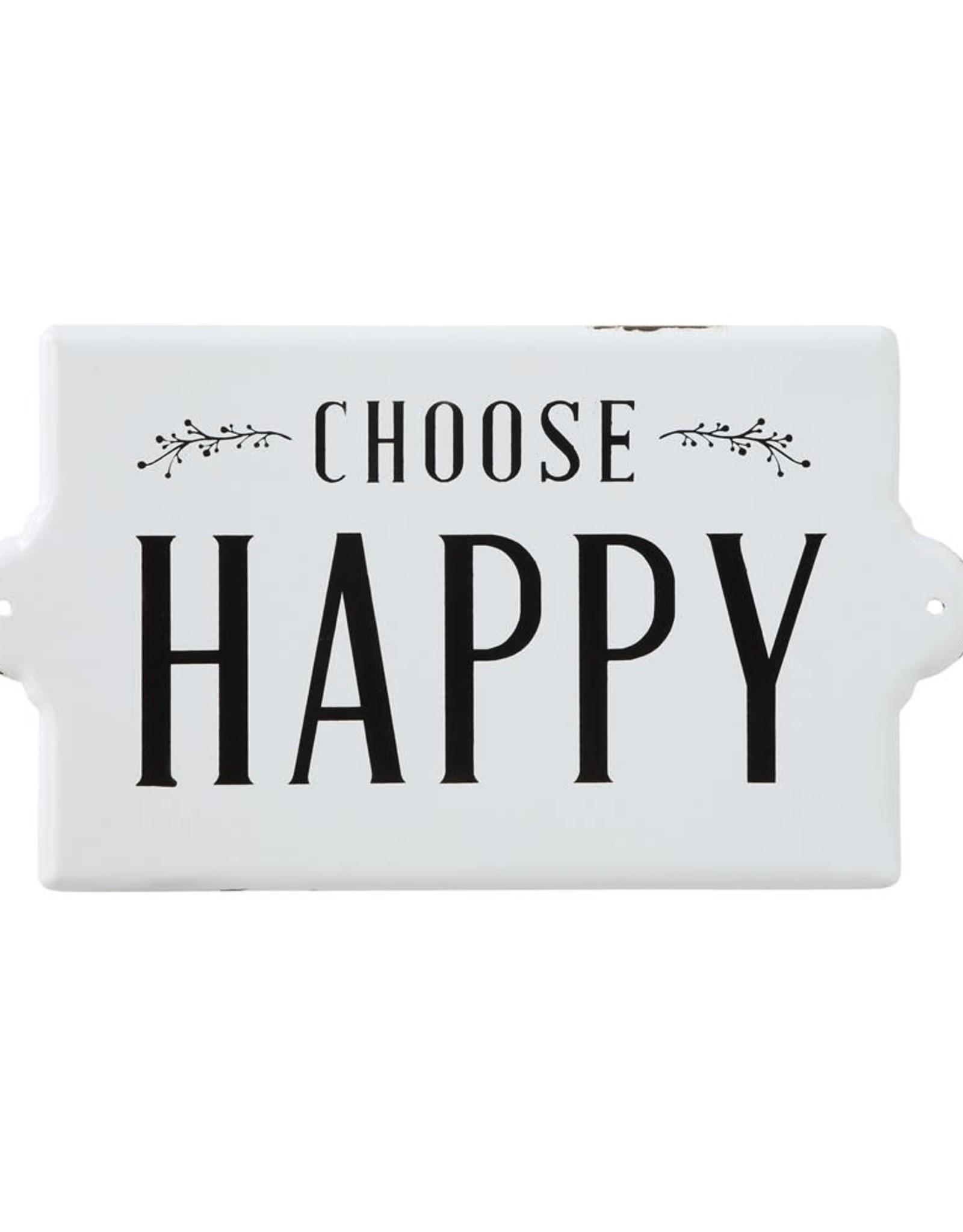 Wink Choose Happy Wall Décor