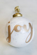 Wink Joy Glass Ornament