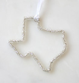 Wink Texas Beaded Ornament