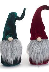 Wink Velvet Gnome Sitter