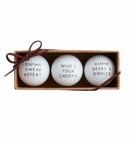 Wink Who's Your Caddy Golf Ball Set