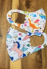 Wink Kids Printed Mask