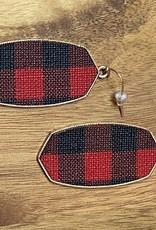 Wink Buffalo Check Earrings