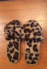 Wink Animal Print Slippers