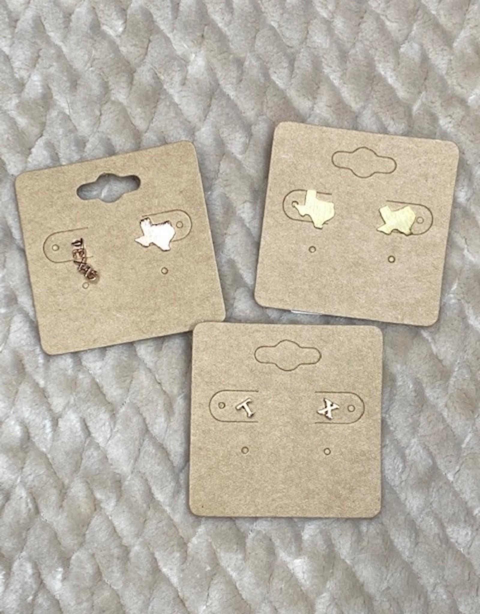 Wink Texas Stud and Crawler Earrings