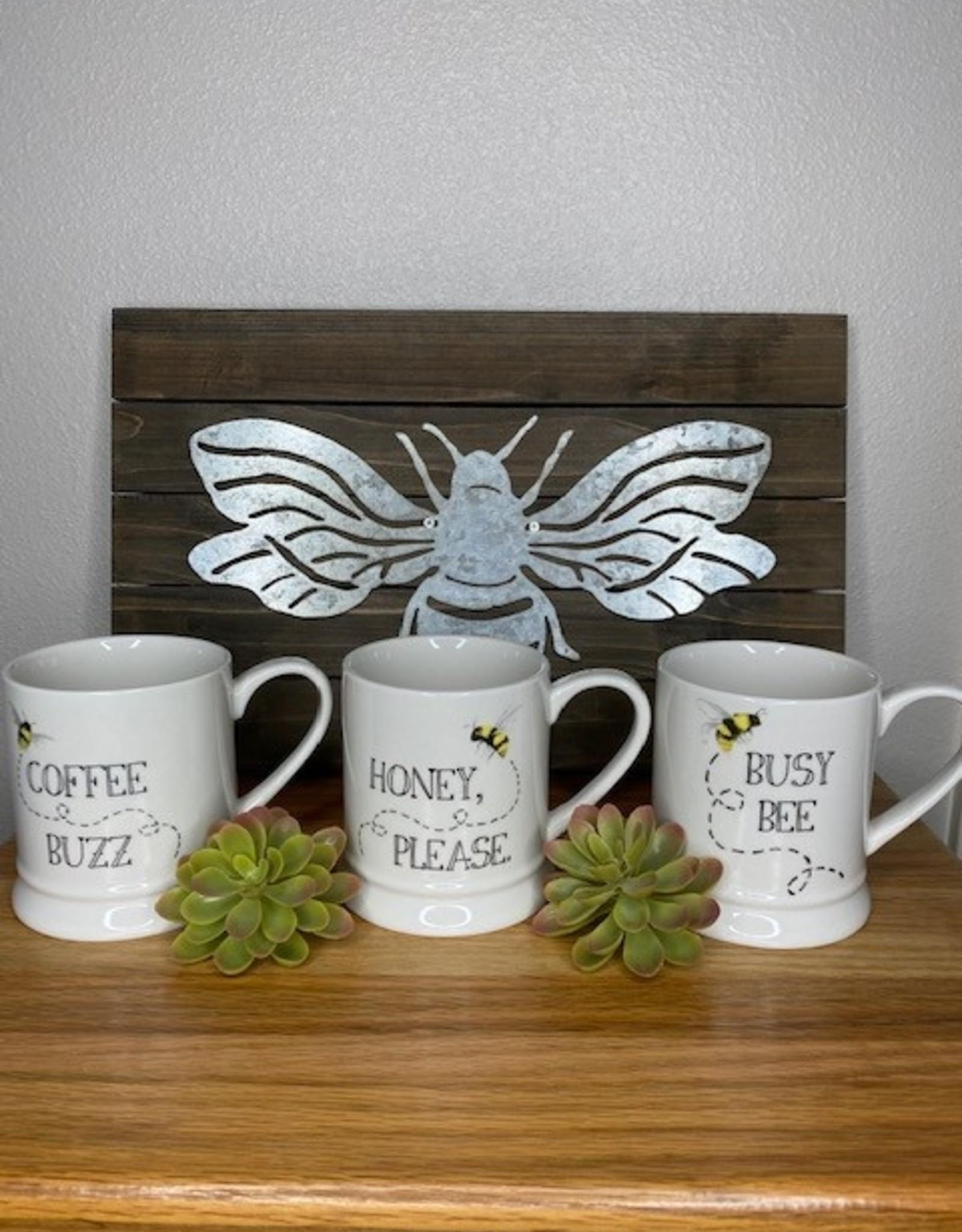 Wink Bee Sayings Mug