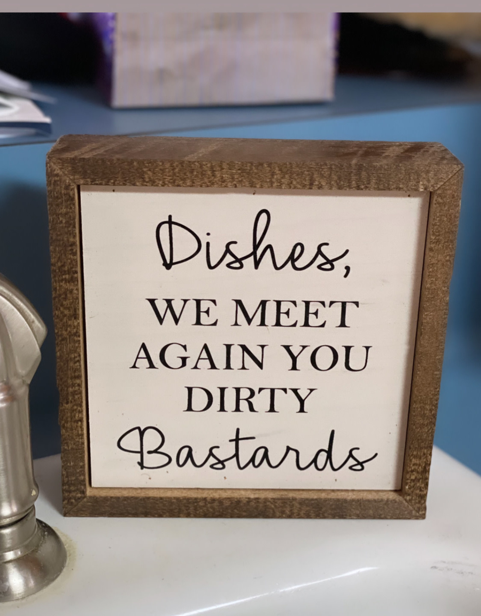 Wink Dishes, We Meet Again