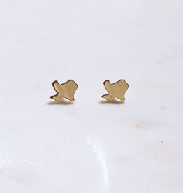 Wink RS Gold Texas Stud Earrings