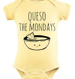 Wink Queso the Mondays Onesie - 6Months