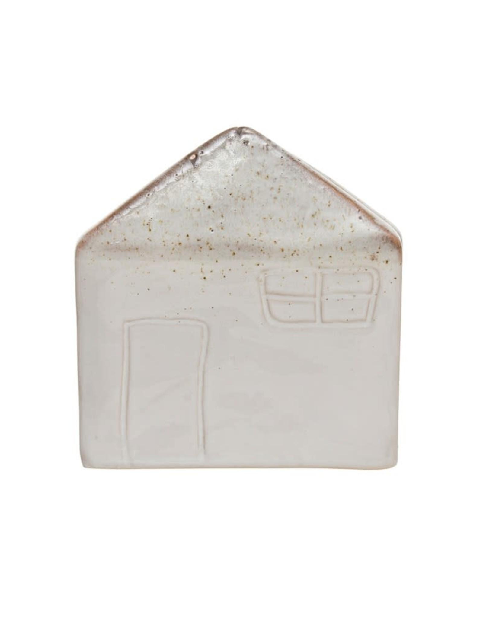 Wink Stoneware House Sponge Holder