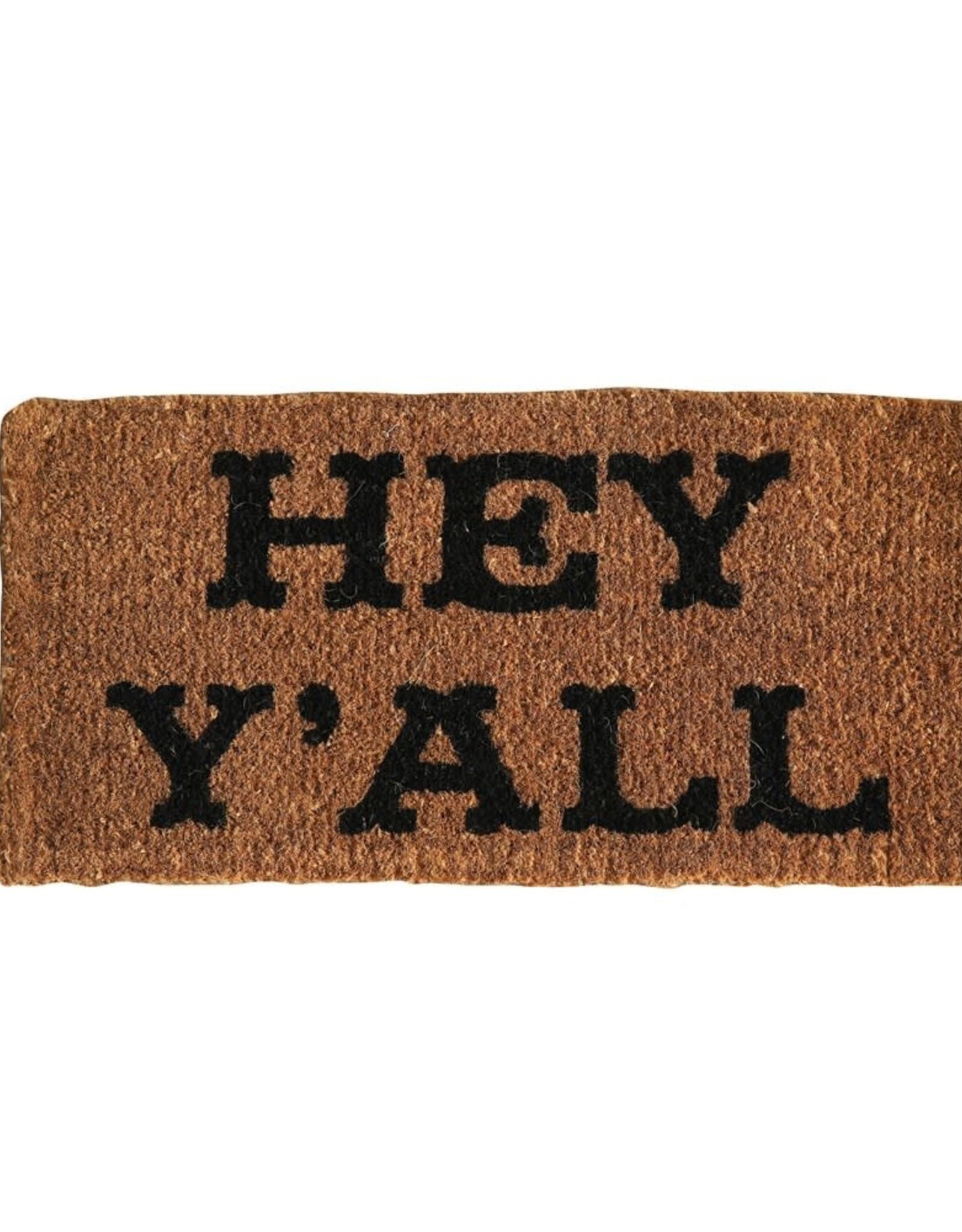 Wink Hey Y'all Doormat