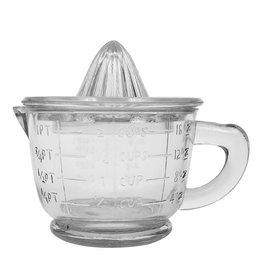 Wink Pressed Glass Juicer