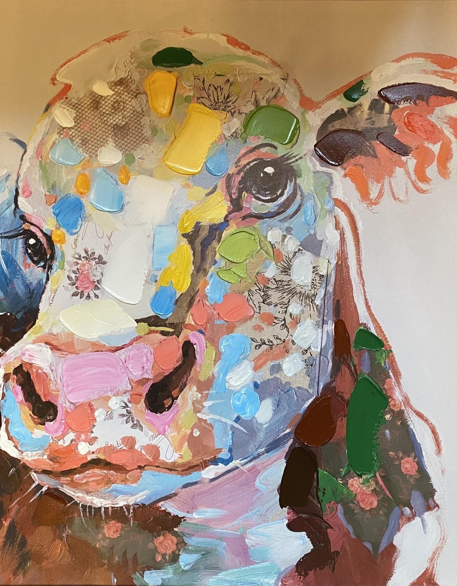 Wink Colorful Calf Canvas