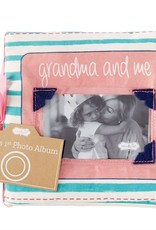 Wink Grandma and Me Fabric Photo Book