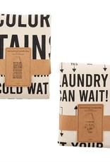 Mud Pie Instructions Laundry Tote